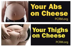 Tus abdominales de queso y tus muslos de queso...Anuncio en las carreteras del Codado de Albany (USA)